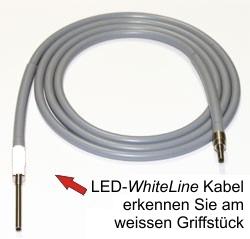 Kaltlichtkabel hochtemperaturfest LED WhiteLine optimiert für LED-Lichtquellen