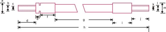 Zeichnungsskizze Sonderlichtleiter