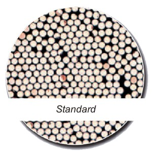 verklebte Fasern / glued fibers