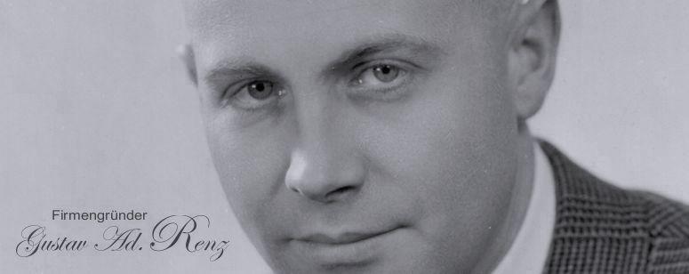 Firmengründer Gustav Adolf Renz