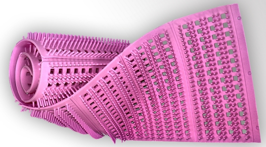 Silikonnoppenmatte pink