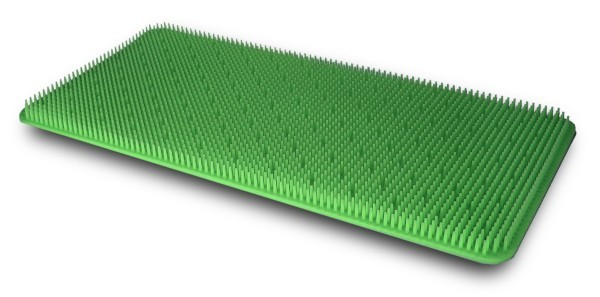 Silikonnoppenmatte 220x230 grün