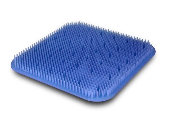 Silikonnoppenmatte 245x245 blau