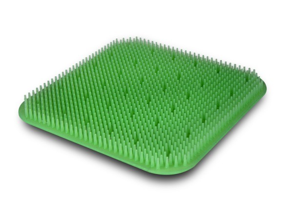 Silikonnoppenmatte 245x245 grün