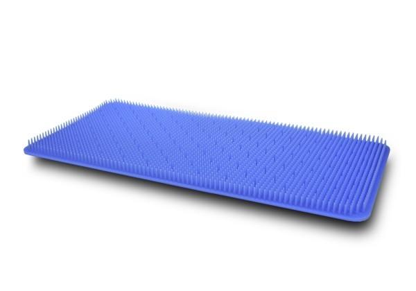 Silikonnoppenmatte 440x230 blau