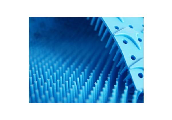 Silikonnoppenmatte 517x242 blau