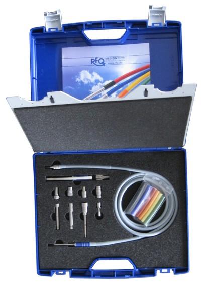 Demokoffer RfQ-Kaltlichtkabelsysteme für Wiederverkäufer